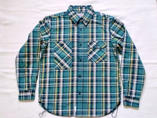 "画像1: EVILACT""Heavy oz check flannel shirt"" (1)"