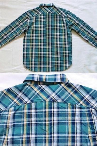 "画像2: EVILACT""Heavy oz check flannel shirt"""