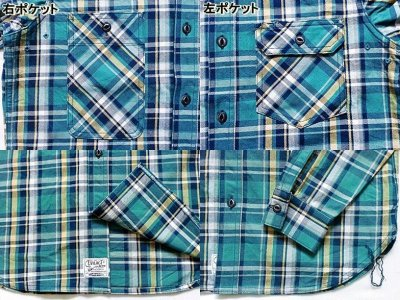 "画像1: EVILACT""Heavy oz check flannel shirt"""