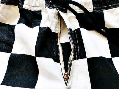 """画像1: EVILACT""""Checker easy shorts-B"""""""