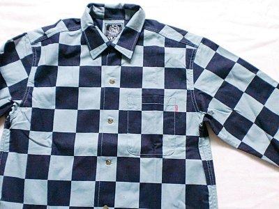 """画像1: EVILACT""""Checker shirt's L/S-N"""""""