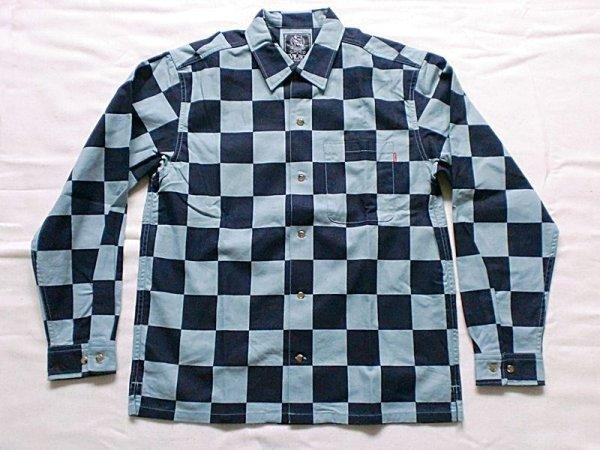 """画像1: EVILACT""""Checker shirt's L/S-N"""" (1)"""