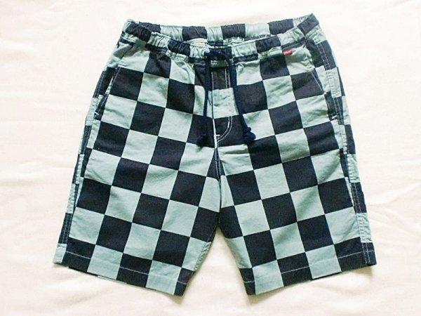 """画像1: EVILACT""""Checker easy shorts-N"""" (1)"""