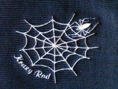 """画像1: 【KNIT CAP SINGLE】 """"SPIDER WEB"""""""