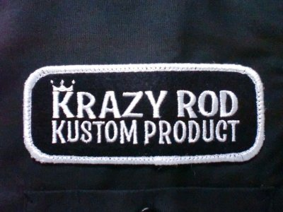 "画像3: KRAZY ROD""CHOPPER HOUSE""KUSTOM WORK SHIRT"