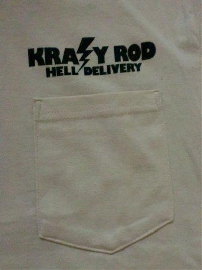 """画像2: KRAZY ROD""""HELL DELIVERY""""POCKET Tee"""