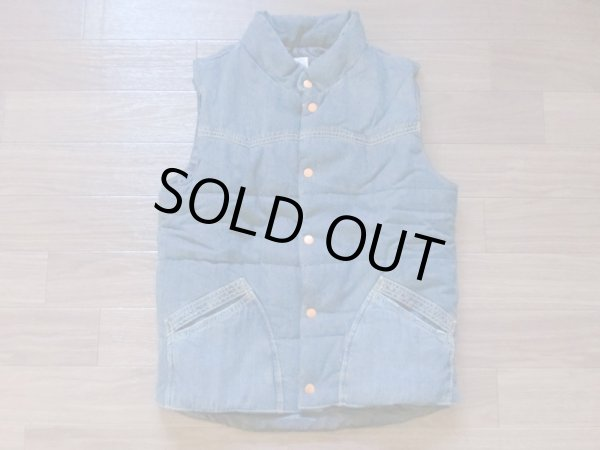 画像1: DENIM AN INSULATED VEST (1)