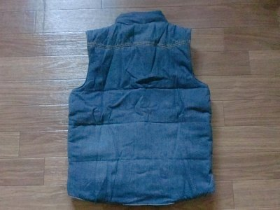 画像1: DENIM AN INSULATED VEST