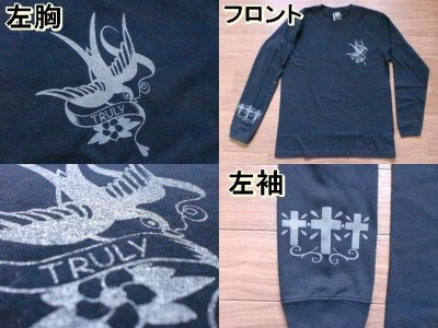 "画像3: KRAZY ROD""TRULY""LONG SLEEV Tee"