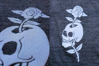 "画像3: KRAZY ROD""SKULL ROSE""FULL ZIP PARKA"