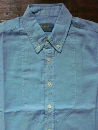 "画像1: B.D STICH SHIRTS""COTTON×LINEN"""