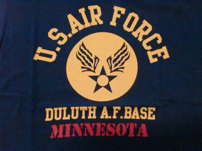 "画像1: HOUSTON""U.S. AIR FORCE""Military Tee"