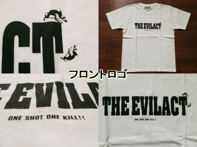 "画像1: EVILACT""New Logo""6.2oz Tee"