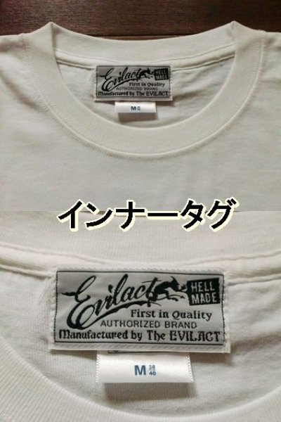 "画像3: EVILACT""New Logo""6.2oz Tee"