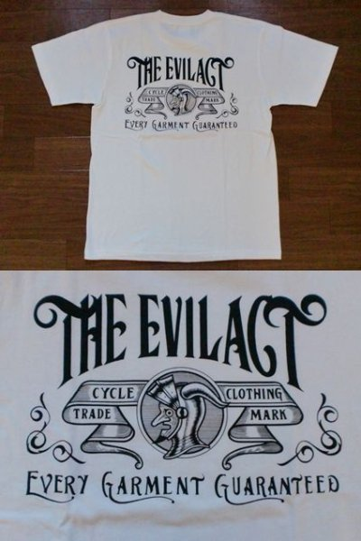 "画像2: EVILACT""Old Sign""6.2oz Tee"