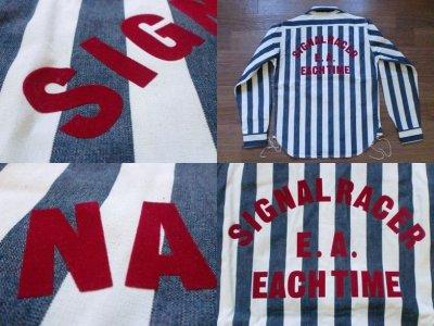 """画像3: EVILACT""""Starter stripe shirt's"""""""