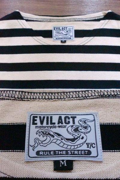 """画像3: EVILACT""""Boat neck marine shirt"""""""