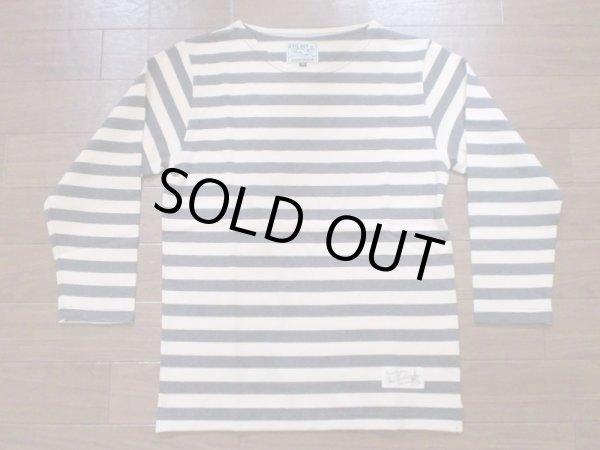 """画像1: EVILACT""""Boat neck marine shirt/G"""" (1)"""