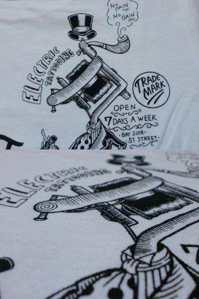 """画像2: EVILACT""""Evilact tattoo parlor""""Tee"""