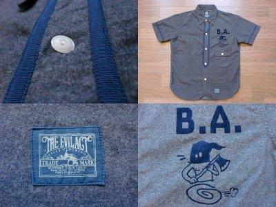 """画像2: EVILACT""""Baseball Shirt's/B"""""""