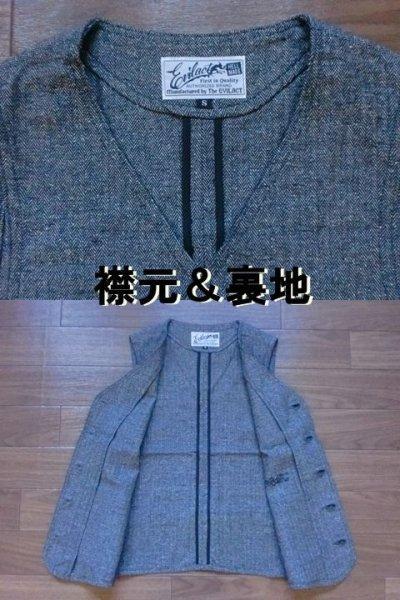 """画像1: EVILACT""""cotton classic vest"""""""