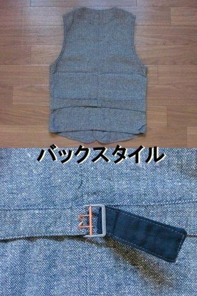 """画像3: EVILACT""""cotton classic vest"""""""