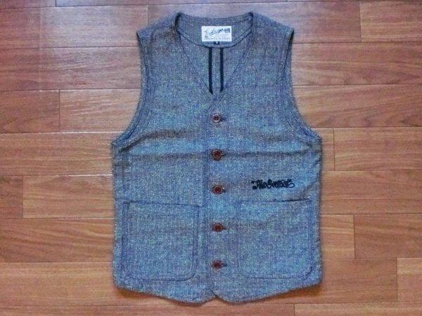 """画像1: EVILACT""""cotton classic vest"""" (1)"""