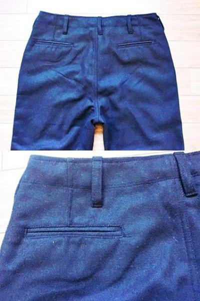 画像1: WOOL CROPPED PANTS