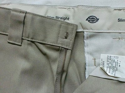"画像2: Dickies""SLIM STRAIGHT FIT WORK PANTS""WP873"