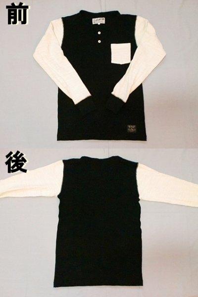 """画像1: EVILACT""""Multi Slub Henley Neckline Shirts"""""""