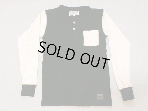 """画像1: EVILACT""""Multi Slub Henley Neckline Shirts"""" (1)"""