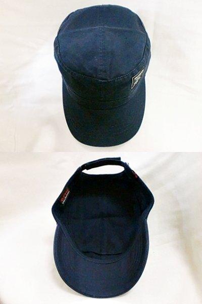 """画像1: EVILACT""""PIGMENT TWILL CAP/cross bone logo"""""""