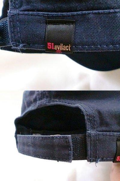 """画像3: EVILACT""""PIGMENT TWILL CAP/cross bone logo"""""""