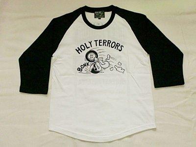 "画像1: HOLY TERRORS""HT05""Raglan 3/4 Sleeve Tee"