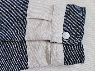 """画像2: VINTAGE EL""""Heavy Flannel Prison Border Work Shirt"""""""