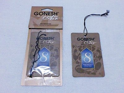 "画像2: GONESH Paper Air Freshener""No.8"""