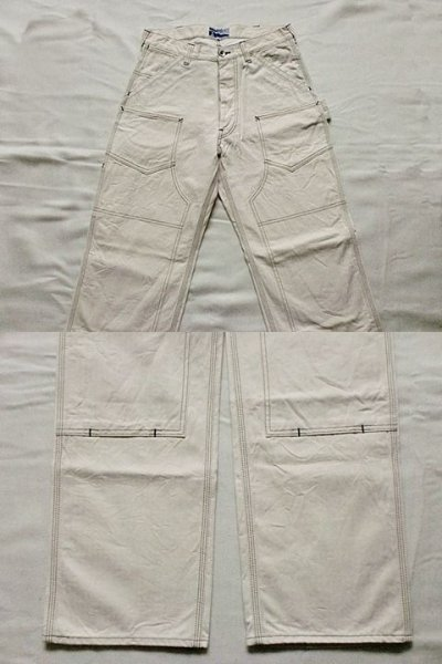 "画像2: EVILACT""DOUBLE KNEE WORK PANTS"""