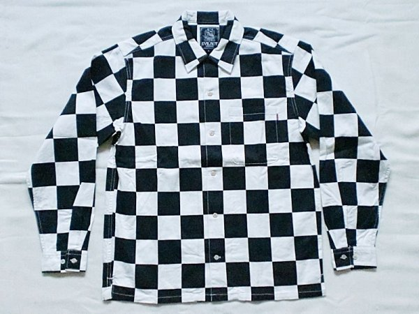 "画像1: EVILACT""Checker shirt's L/S"" (1)"