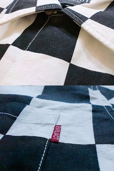 "画像3: EVILACT""Checker shirt's L/S"""
