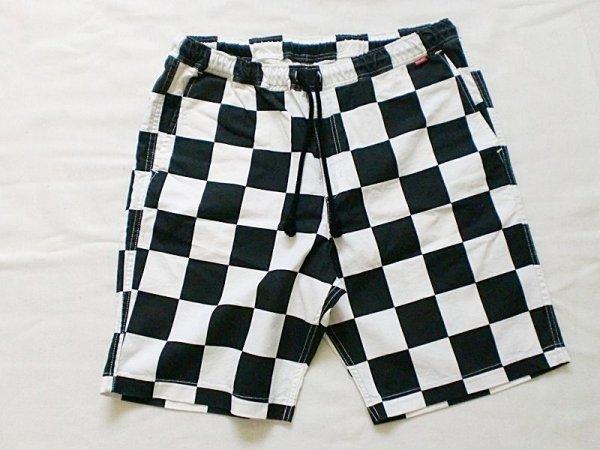 """画像1: EVILACT""""Checker easy shorts-B"""" (1)"""
