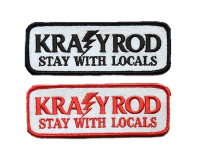 "画像1: KRAZY ROD""PATCH・R / STAY WITH LOCALS"""