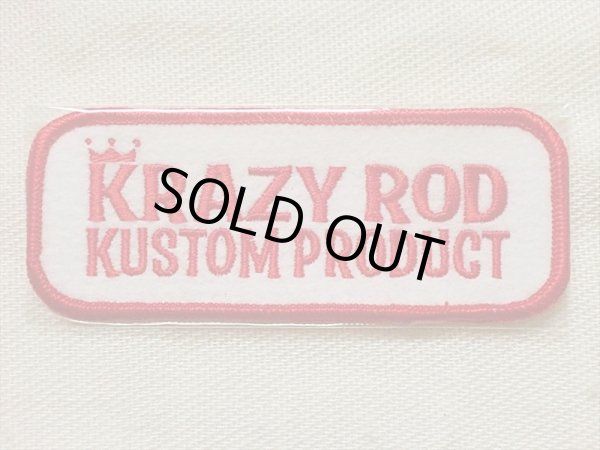 "画像1: KRAZY ROD""KUSTOM PRODUCT""PATCH (1)"