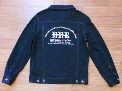 "画像1: Hollywood Hot Rods""TRUCKER JACKET""限定デザイン"