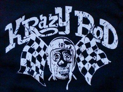 """画像2: KRAZY ROD""""SKULL RACER""""WAFFLE Tee"""