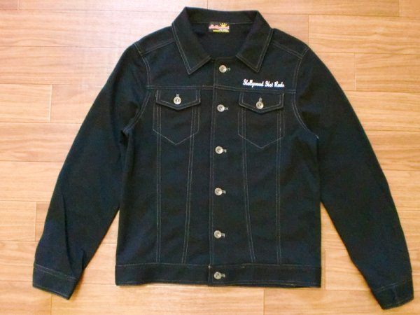 "画像1: Hollywood Hot Rods""TRUCKER JACKET""限定デザイン (1)"
