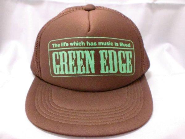 """画像1: GREEN EDGE""""Playing""""MESH CAP (1)"""