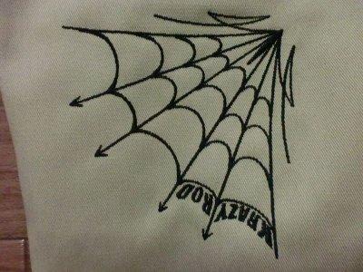 """画像2: KRAZY ROD""""ARCH SPIDER""""KUSTOM WORK PANT"""