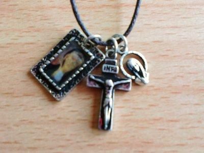"""画像1: NECKLACE""""The Cross Guadalupe"""""""