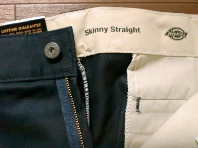 "画像2: SKINNY STRAIGHT PANT ""DOUBLE KNEE"""